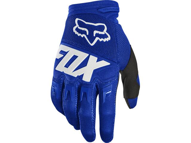 Fox Dirtpaw Race Handschuhe Herren blue/white